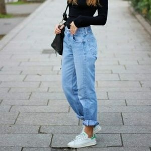 Vintage Levi's 550 taper leg relaxed mom jeans